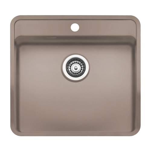 Reginox Regi-Color OHIO 50x40 1.0 Bowl Sink - Sahara Sand