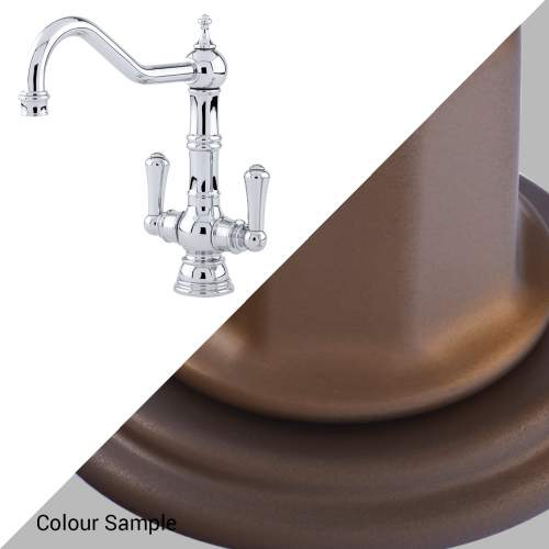 Perrin and Rowe 4761 Picardie Kitchen Tap 4761BZ English Bronze