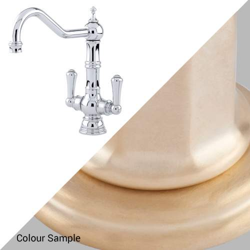 Perrin and Rowe 4761 Picardie Kitchen Tap 4761SB Satin Brass