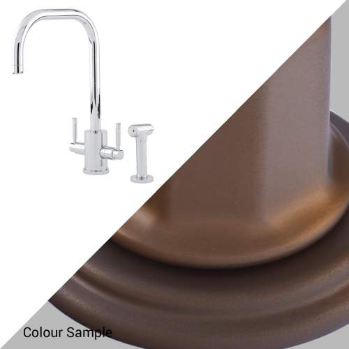 Perrin & Rowe ORBIQ 'U' Spout Tap with Rinse