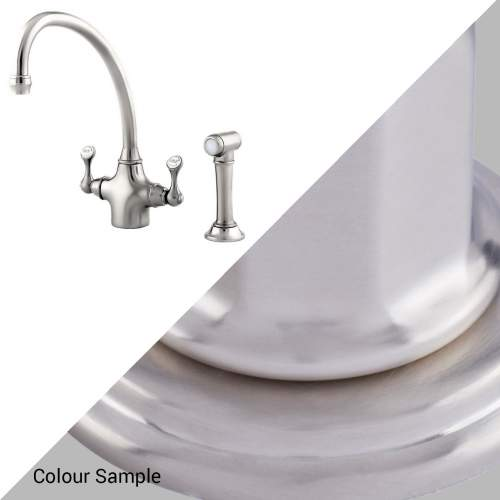 Perrin & Rowe 4350 Etruscan Tap with Rinse