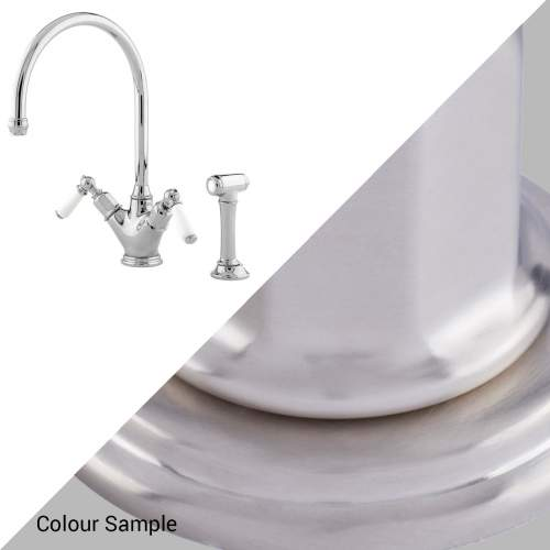 Perrin & Rowe 4367 Minoan Tap with Rinse