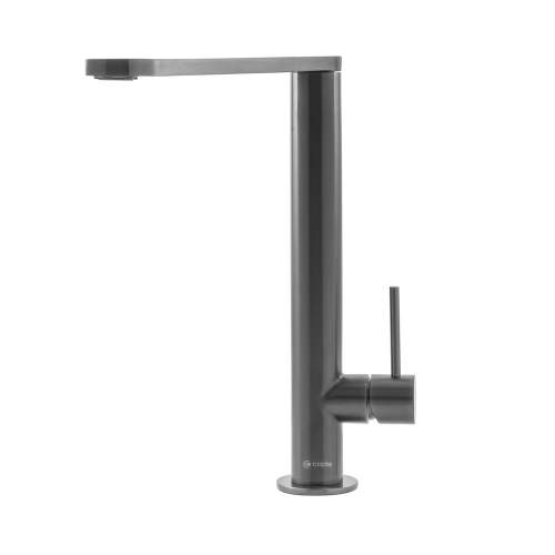 Caple KARNS Single Lever Stainless Steel Tap in Gun Metal Grey