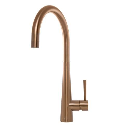 Caple RIDLEY Stainless Steel Single Lever Tap in Copper