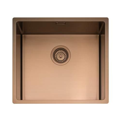 Caple Mode 45 Versatile Single Bowl Sink in Copper