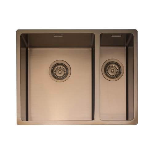 Caple MODE 3415 1.5 Bowl Kitchen Sink in Copper MODE3415/R/CO