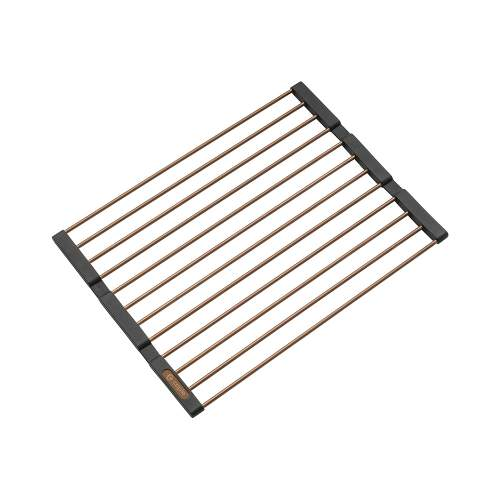 Caple Universal Stainless Steel Fold Mat in Copper