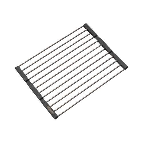 Caple Universal Stainless Steel Fold Mat in Gunmetal Grey
