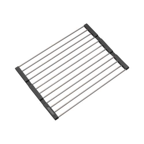 Caple Universal Stainless Steel Fold Mat in Stainless Steel