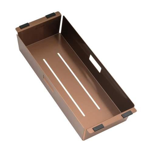 Caple Mode Colander in Copper