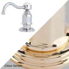 Perrin & Rowe 6995 Soap Dispenser in Polished Brass