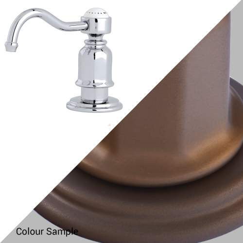 Perrin & Rowe 6995 Soap Dispenser in English Bronze