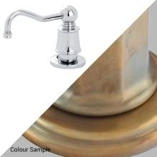 Perrin & Rowe 6695 Soap Dispenser in Aged Brass