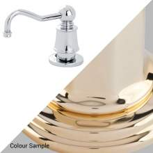 Perrin & Rowe 6695 Soap Dispenser in Polished Brass