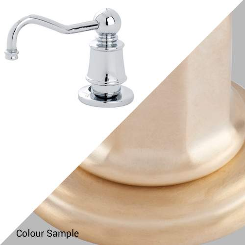 Perrin & Rowe 6695 Soap Dispenser in Satin Brass