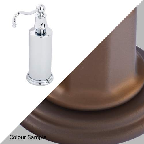 Perrin & Rowe 6633 Country Freestanding Soap Dispensers in Bronze