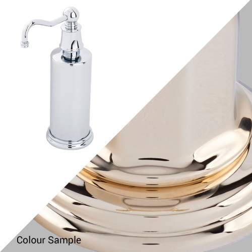 Perrin & Rowe 6633 Country Freestanding Soap Dispensers in Gold