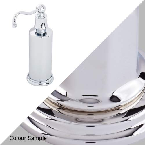 Perrin & Rowe 6633 Country Freestanding Soap Dispensers in Nickel