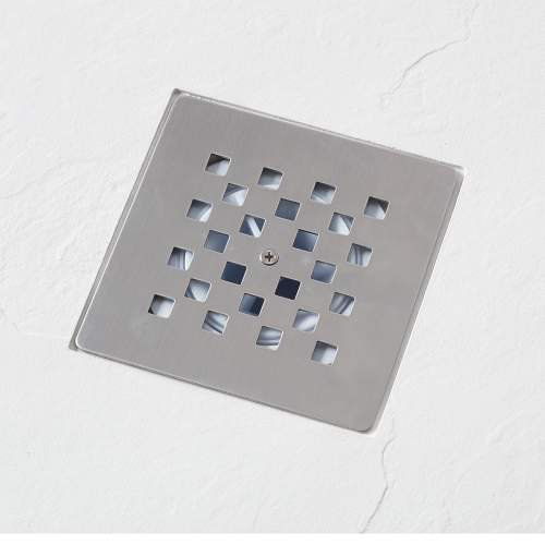 Aquabro Rectangular Slate Effect Anthracite Shower Trays