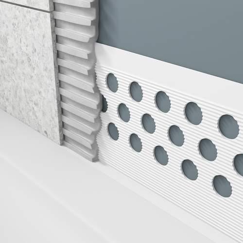 Aquabro Waterstop ShowerTray and Bath Sealant Strip - BSS001