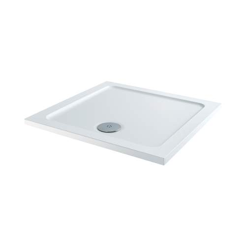 Aquabro Square ABS Stone Resin Shower Tray SQT001 700 x 700mm