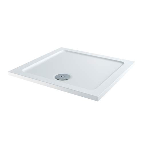 Aquabro Square ABS Stone Resin Shower Tray SQT003 800 x 800mm