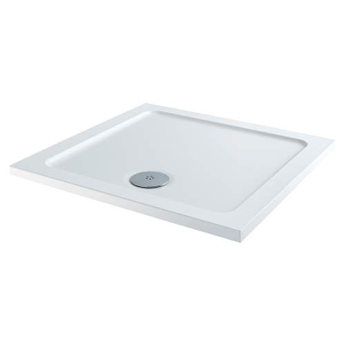 Aquabro Square ABS Stone Resin Shower Tray SQT004 900 x 900mm