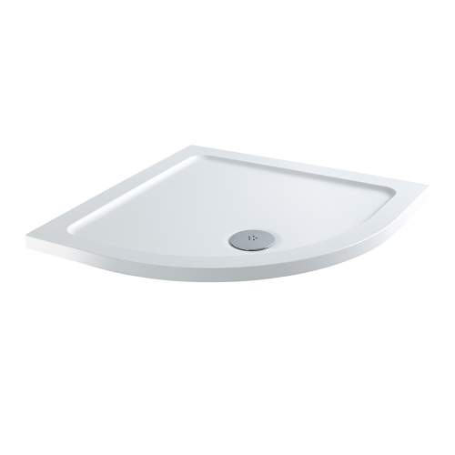 Aquabro Quadrant ABS Stone Resin Shower Tray CQT001 800 x 800mm