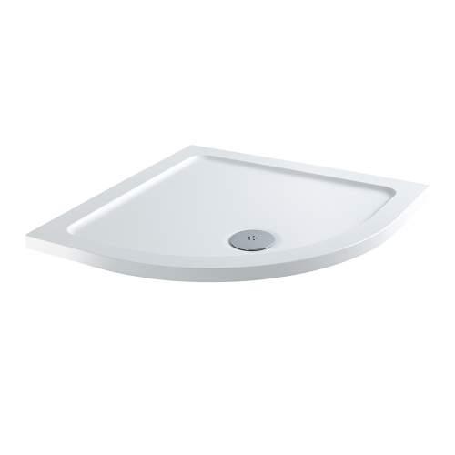 Aquabro Quadrant ABS Stone Resin Shower Tray CQT001 800 x 800mm