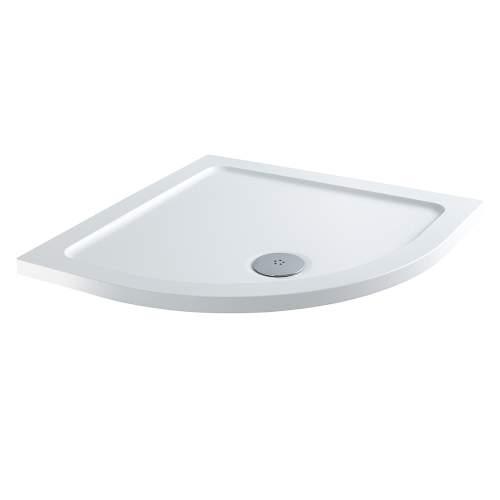 Aquabro Quadrant ABS Stone Resin Shower Tray CQT001 900 x 900mm