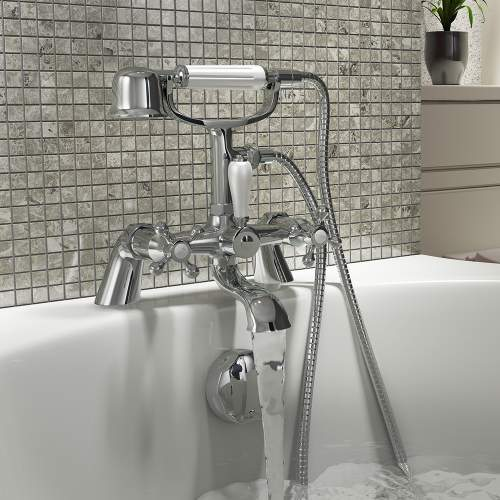 Aquabro Traditional Albert Bath Shower Mixer