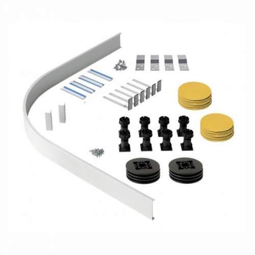 Aquabro Panel Riser Pack For Quadrant & Offset Quadrant Shower Trays