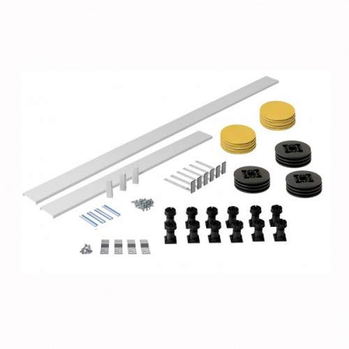 Aquabro Panel Riser Pack 3 2000mm For Square & Rectangle Trays