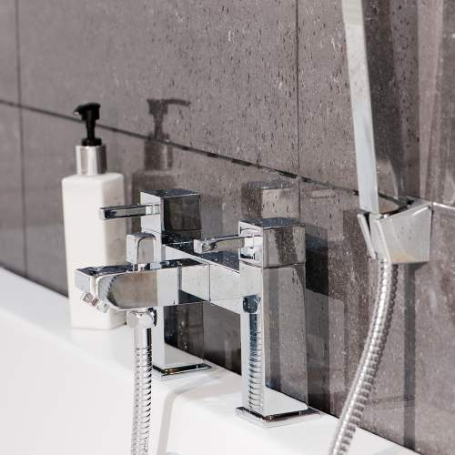 Aquabro EMPEROR Deck Mounted Bath Shower Mixer