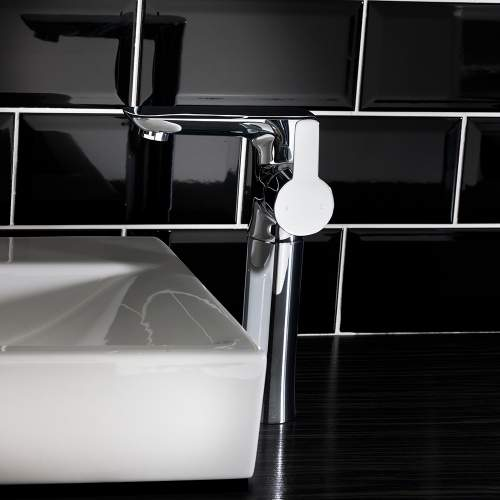 Aquabro PEDRAS Large High Rise Bathroom Tap