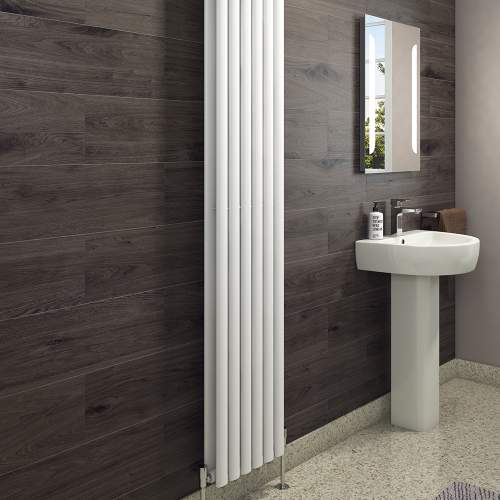 Aquabro Designer 6 Panel Vertical 1800x354 Radiator