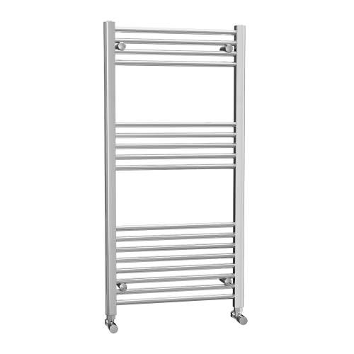 Aquabro 600 x 1200 Chrome Ladder Radiator