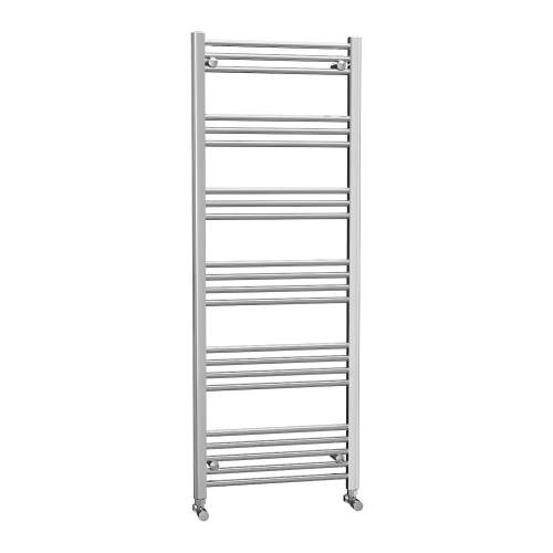 Aquabro 600 x 1600 Chrome Ladder Radiator