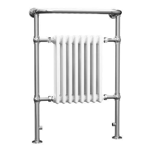 Aquabro 965x673x230 Traditional 8 Section Enamel Radiator