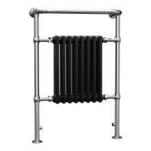 Aquabro 965x673x230 Traditional 8 Section Enamel Radiator