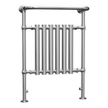 Aquabro Traditional Chrome Heated Towel Rail 963x673x230mm