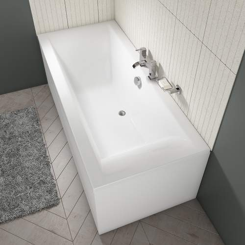 Aquabro Double Ended Square Style Standard Bath