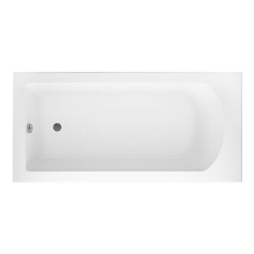 Aquabro Uno Single End Square Style Standard 1700 x 750mm Bath