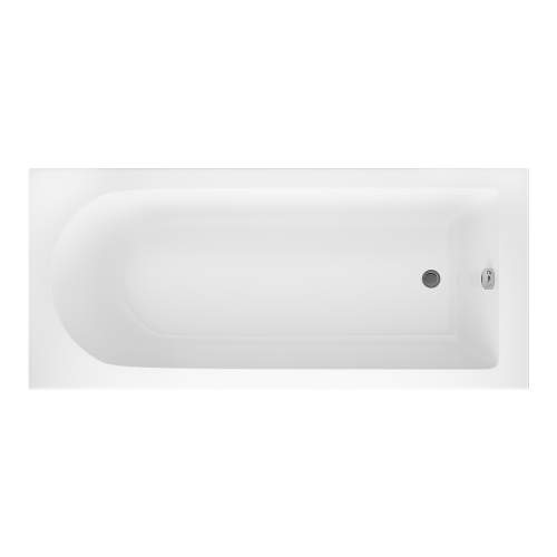Aquabro Grange Single Ended Round Style Standard 1700 x 750mm Bath