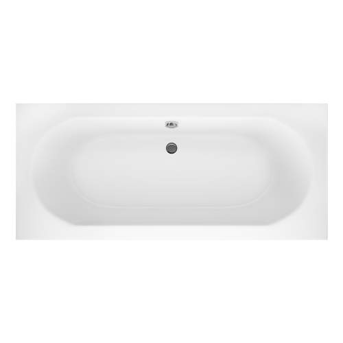 Aquabro Hilton Double Ended Round Style Standard Bath 750mm