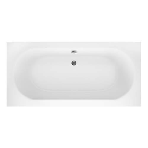 Aquabro Hilton Double Ended Round Style Standard Bath 800mm
