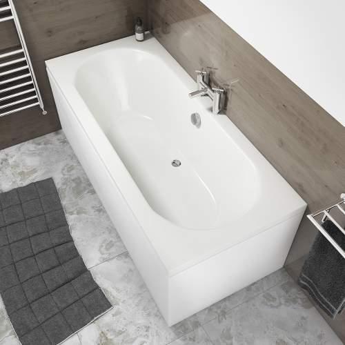 Aquabro Hilton Double Ended Round Style Standard Bath