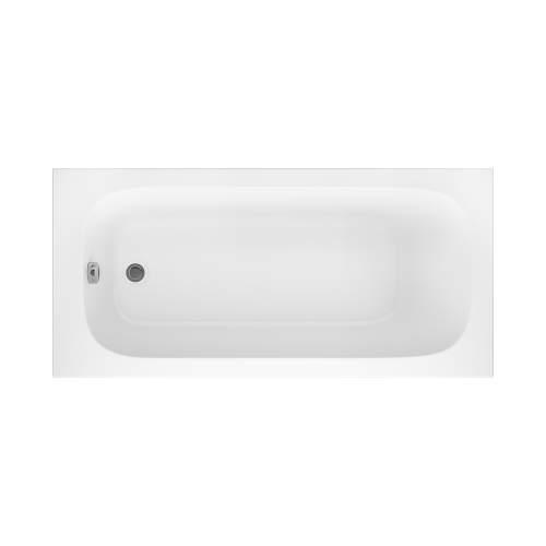 Aquabro Luton Single Ended Round Style Standard 1500 x 700mm Bath