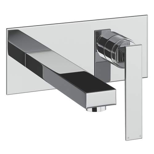 Abode Marino Wall Mounted Basin Mixer