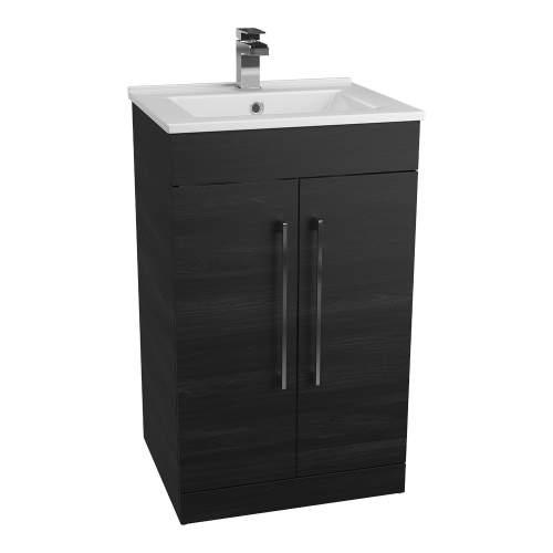 Aquabro Idon 500 Thin-Edge Style Polymarble Bathroom Basin